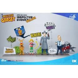 Inspecteur Gadget pack figurines 1/12 Mega Hero Inspector Gadget DX 17 cm