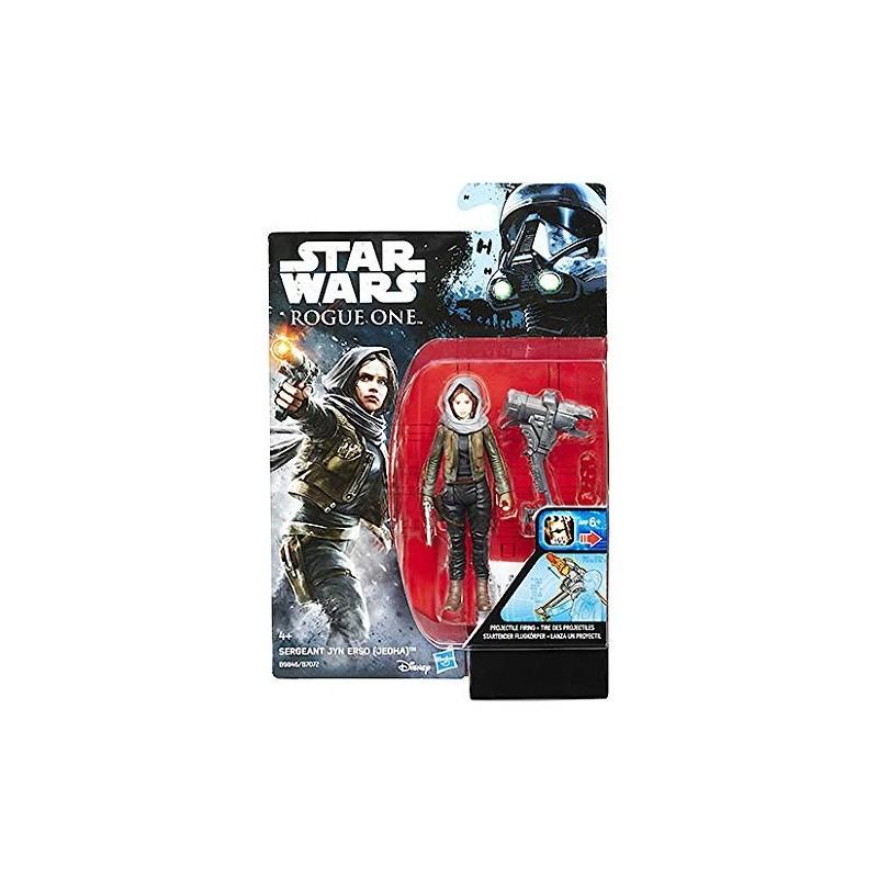 Figurine Star Wars Rogue One Jyn Erso Jehda 10cm