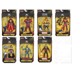 Marvel Legends Deadpool 15 cm Set de 7 Figurines BAF Strong Guy