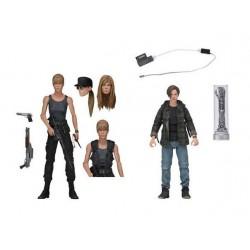 Terminator 2 Le Jugement dernier pack 2 figurines Sarah Connor & John Connor 18 cm