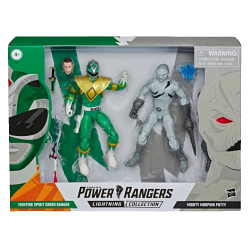 Figurine Power Rangers Lightning Collection Green Ranger VS Putty Patrol