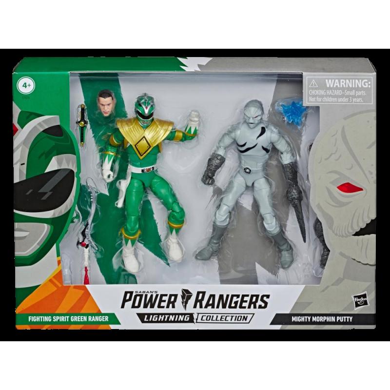 Figurine Power Rangers Lightning Collection Green Ranger VS Putty Patrol
