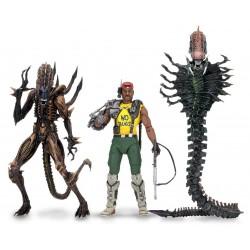 Aliens série 13 assortiment de 3 figurines 18 cm