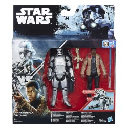 Figurine Star Wars Rogue One Captain Phasma & Finn Jakku