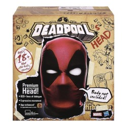 Marvel Legends tête Deadpool interactive