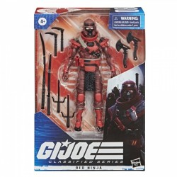 GI Joe Classified Red Ninja 15 cm
