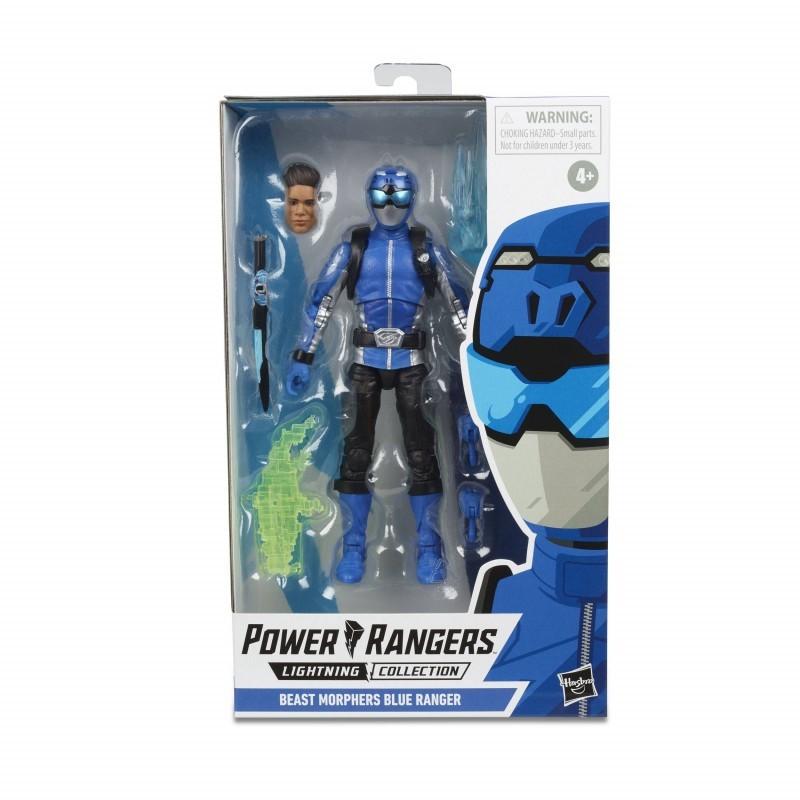 Figurine Power Rangers Lightning Collection 15cm - Beast Morphers Blue Ranger