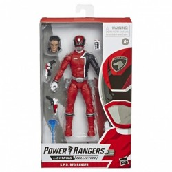 Figurine Power Rangers Lightning Collection 15cm - S.P.D Red Ranger