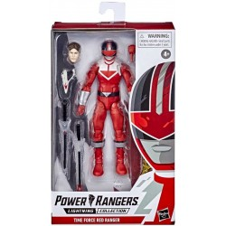 Figurine Power Rangers Lightning Collection 15cm - Time Force Red Ranger