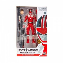 Figurine Power Rangers Lightning Collection 15cm - The Time Red Force