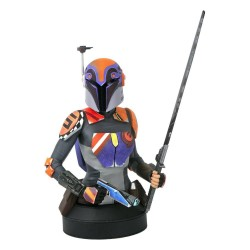 Star Wars Rebels buste 1/7 Sabine Wren 15 cm