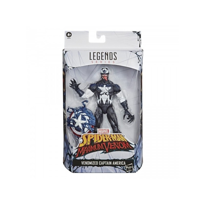 Marvel Legends Figurine 15cm Venomized Captain America