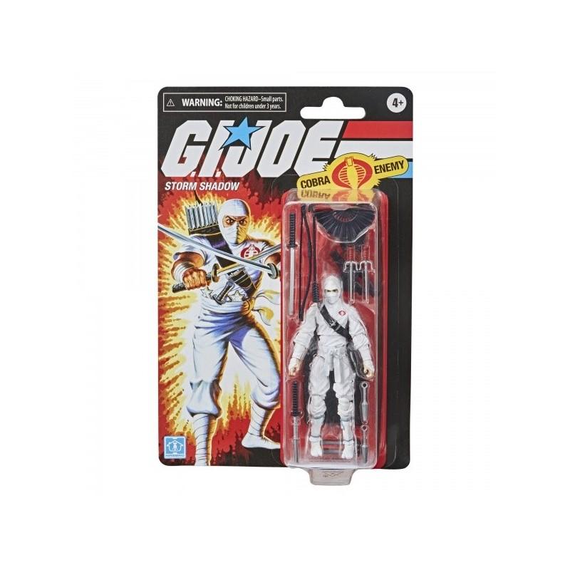 Gi Joe Retro 12cm Figurine Storm Shadow