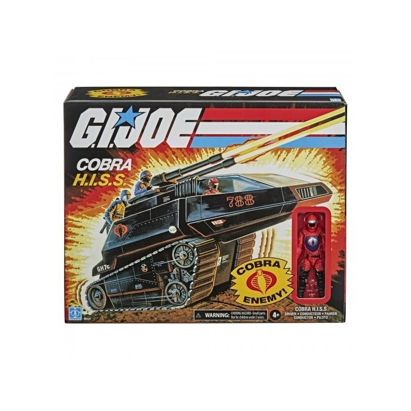 Gi Joe Retro Véhicule Cobra H.I.S.S & Son Conducteur