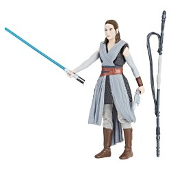 Figurine Star Wars Solo Story  Rey Jedi Training