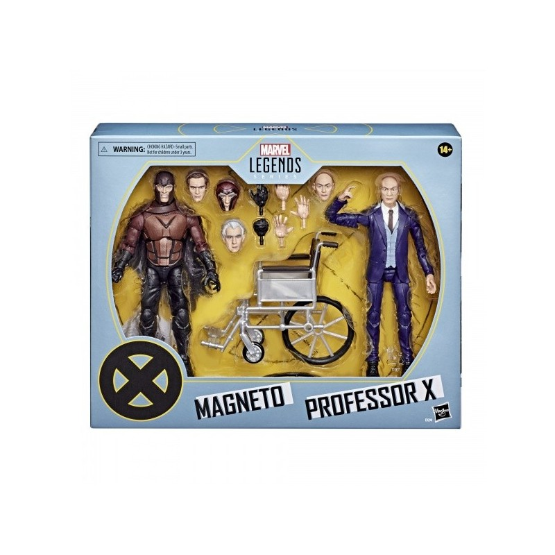 Marvel Legends 2-Pack Proffessor X & Magneto 15 cm 20Th