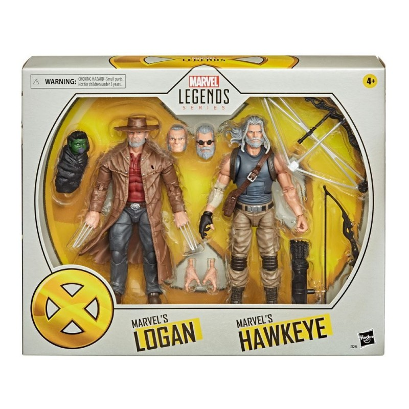 Marvel Legends 2-Pack Old Hawkeye & Old Logan 15 cm 20th X-men