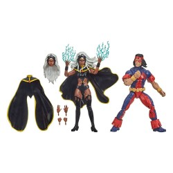 Marvel Legends pack 2 figurines Storm & Marvel's Thunderbird 15 cm
