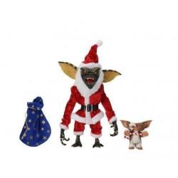 Gremlins pack 2 figurines Santa Stripe & Gizmo 18 cm