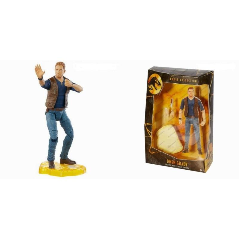 Jurassic Wold Amber Collection Figurine 15cm Owen Grady