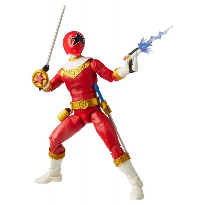 Power Rangers Lighting Collection Zeo Red Ranger