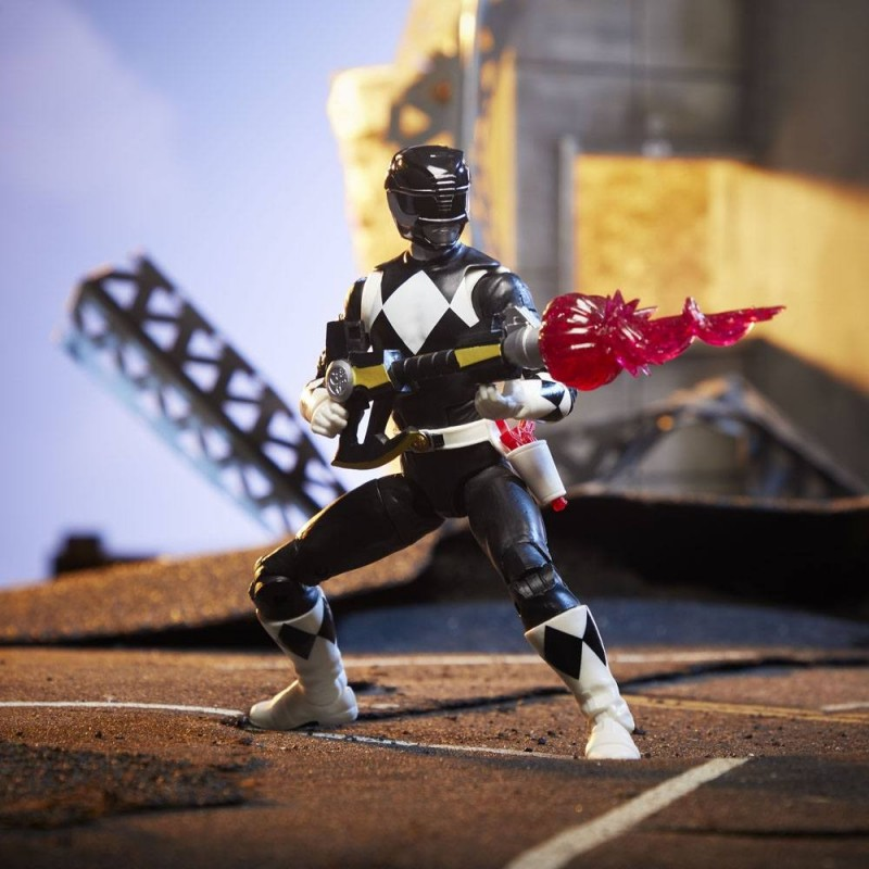 Power Rangers Lighting Collection MM Black Ranger