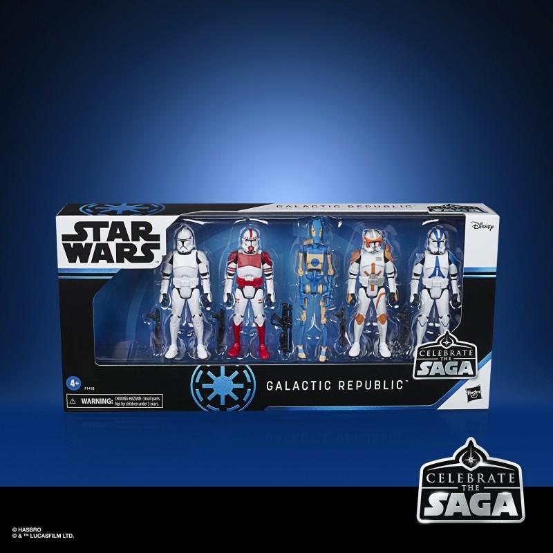 Star Wars Coffret CTS Galactic Republic 10 cm