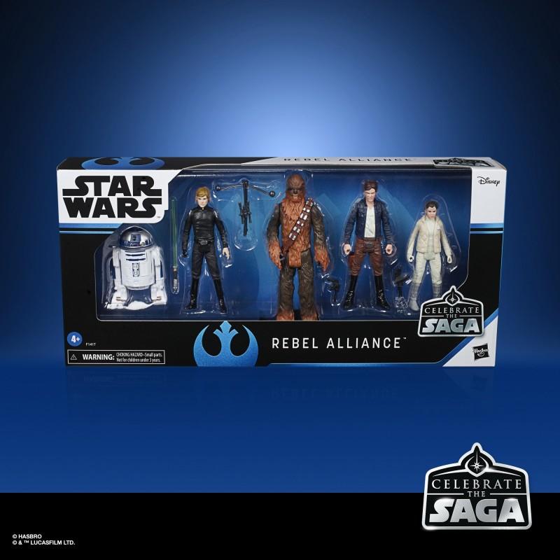 Star Wars Coffret CTS Rebel Aliance  10 cm