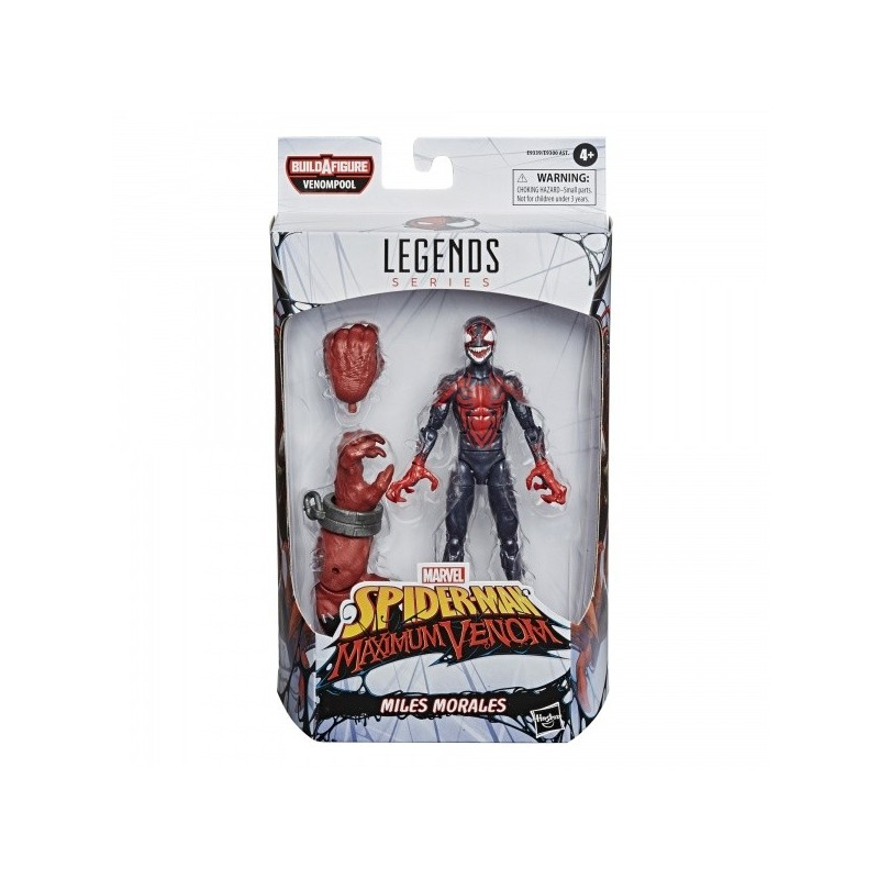 Venom Figurine Marvel Legends 15 cm Miles Morales