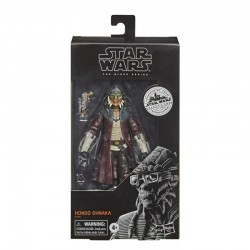 Star Wars Galaxy's Edge Black Series figurine 2020 Hondo Ohnaka  15 cm