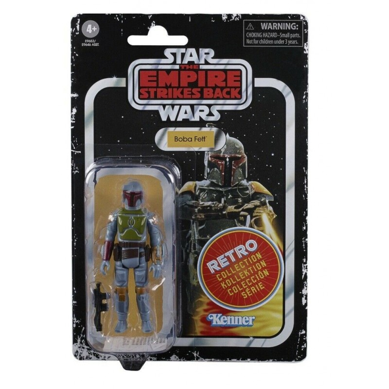 Figurine Star Wars Retro ESB Vintage 10cm Boba Fett