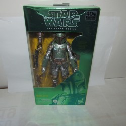PBA -Figurine Star Wars Black Series Carbonized Boba Fett Modèle 3