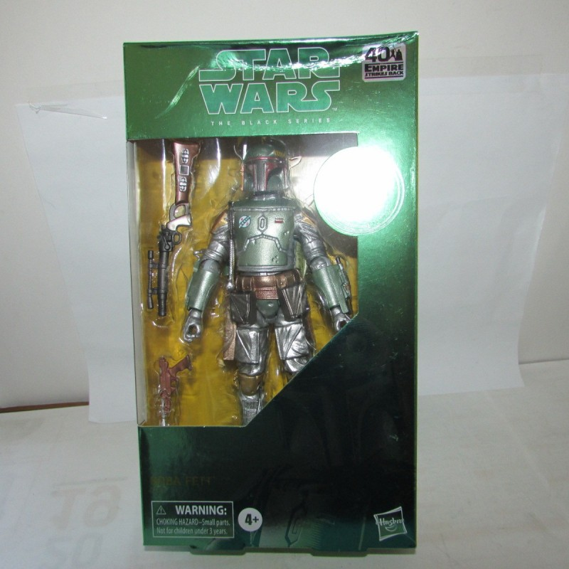 PBA -Figurine Star Wars Black Series Carbonized Boba Fett Modèle 4