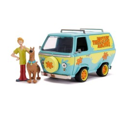 Scooby Doo 1/24 Hollywood Rides Mystery Van métal avec figurines