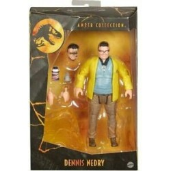 Jurassic Park Amber Collection Figurine 15cm Dennis Nedry