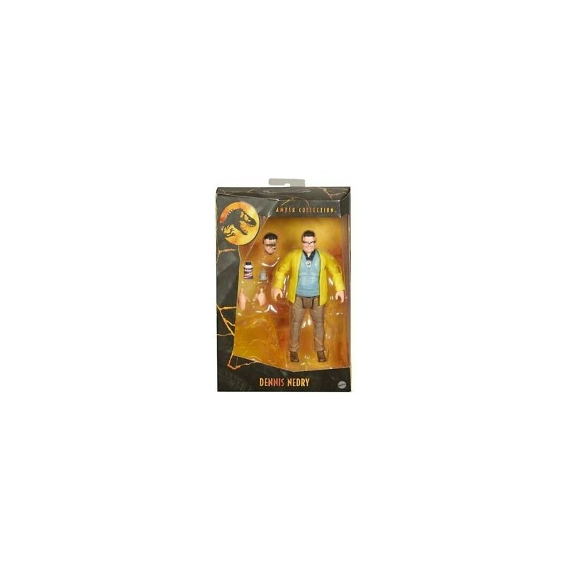 Jurassic Park Amber Collection Figurine 15cm Dennis Nedry