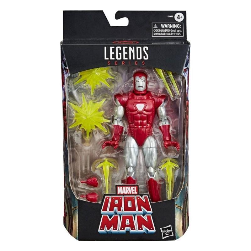 Marvel Legends Series figurine 2020 Iron Man Silver Centurion 15 cm