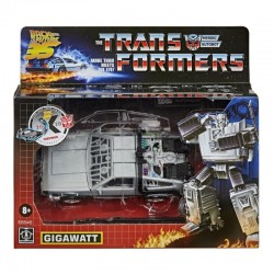 Transformers Toys Generations Back To The Future Mash-Up Gigawatt Delorean