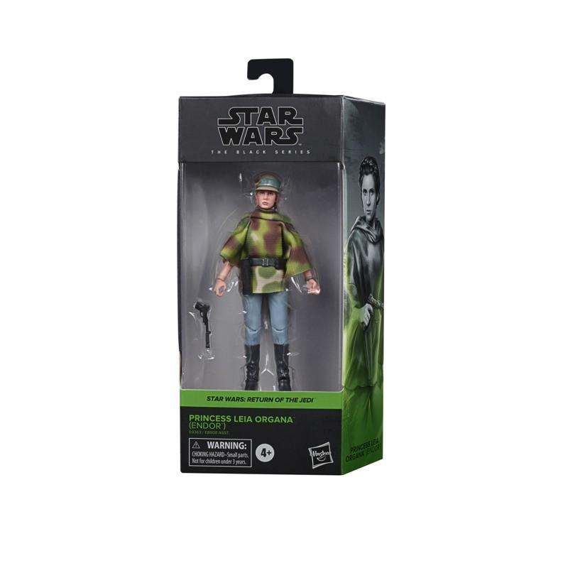 Figurine Star Wars Black Series 15cm  Leia EP6 Endor