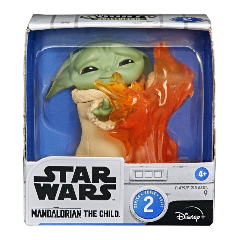 Star Wars The Mandalorian Figurine Child 5cm  Child  et Feu