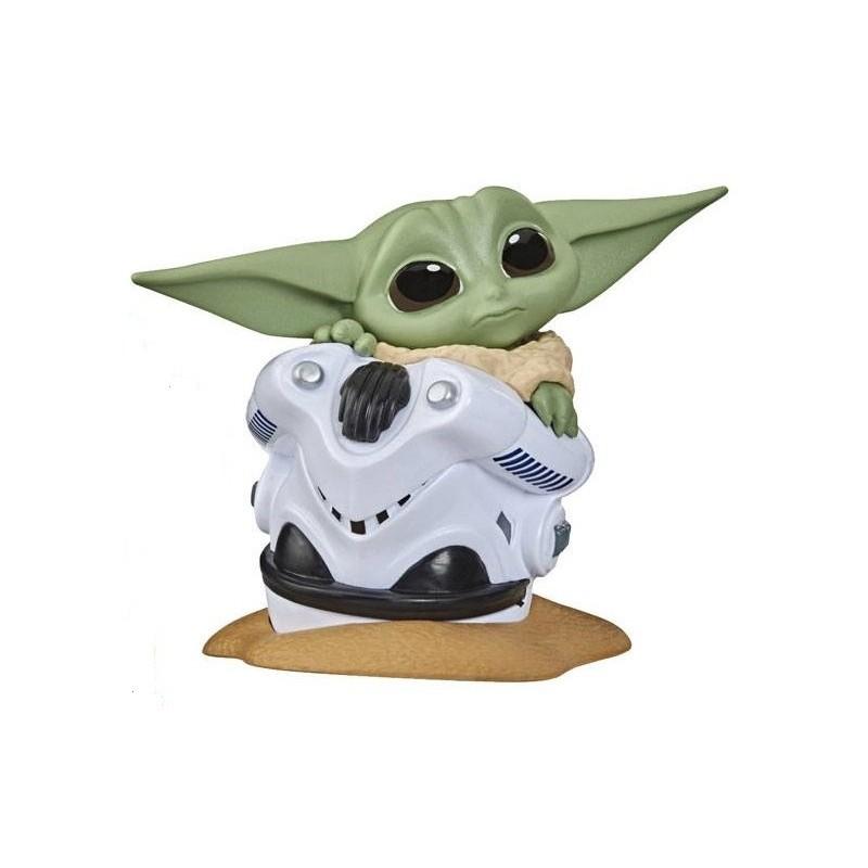 Star Wars The Mandalorian Figurine Child 5cm  Child  et Helmet Stormtrooper