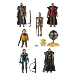Star Wars The Mandalorian Retro Collection assortiment figurines 2021 10 cm