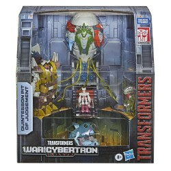 Transformers Generations War for Cybertron Trilogy figurines Box Set Quintesson Pit of Judgement