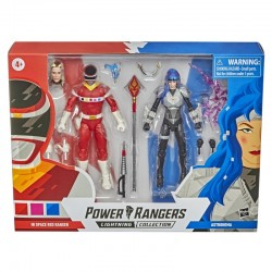 Power Rangers Lightning Collection 2021 In Space Red Ranger vs. Astronema