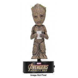 Avengers Infinity War Body Knocker Bobble Figure Groot 16 cm