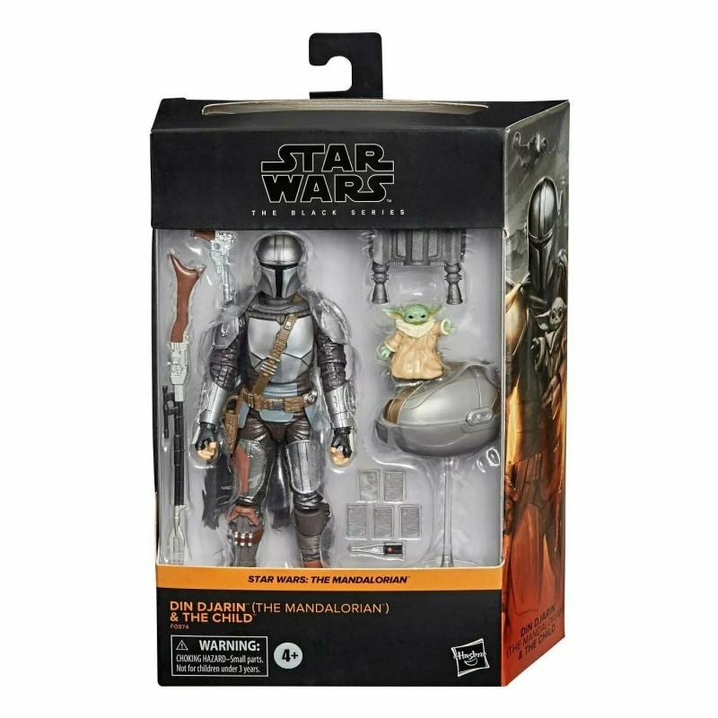 Star Wars Black Series 15cm 2-pack Din Djarin & The Child