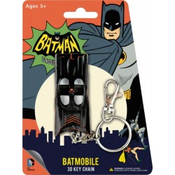 Batman 1966 Porte clés métal Batmobile