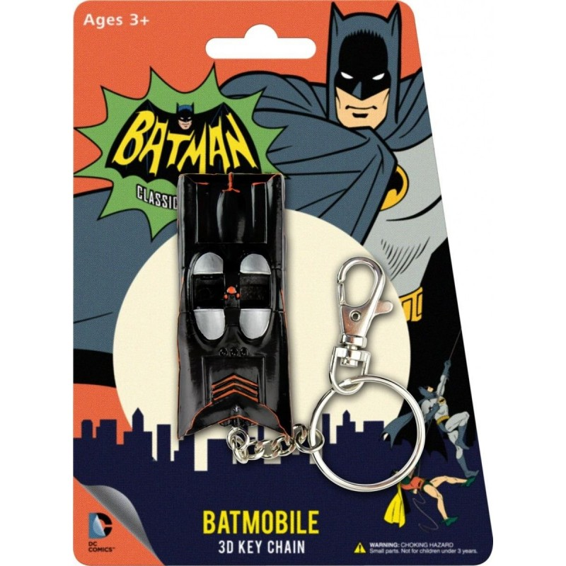Batman 1966 Porte clés métal Batmobile