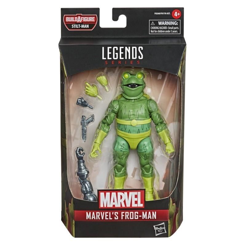 Figurine Marvel Legends 15 cm Spider-man  Marvel's Frog