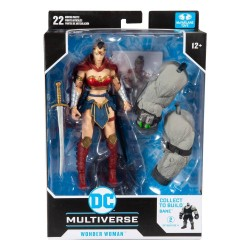 DC Multiverse figurine Build A Wonder Woman 18 cm